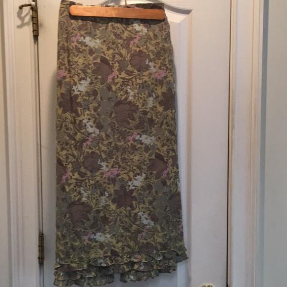 Sigrid Olsen Dresses & Skirts - Knee length beautiful skirt zipper/button/closure